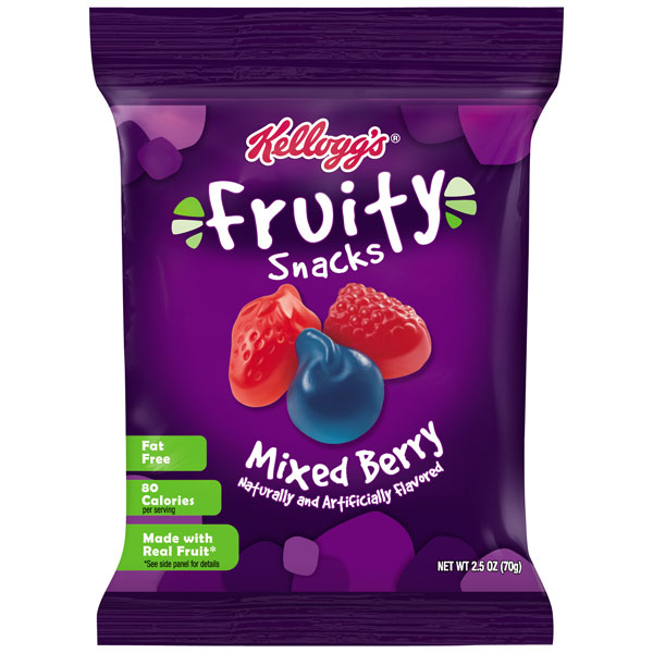 Kellogg's Mixed Berry Fruit Snacks thumbnail