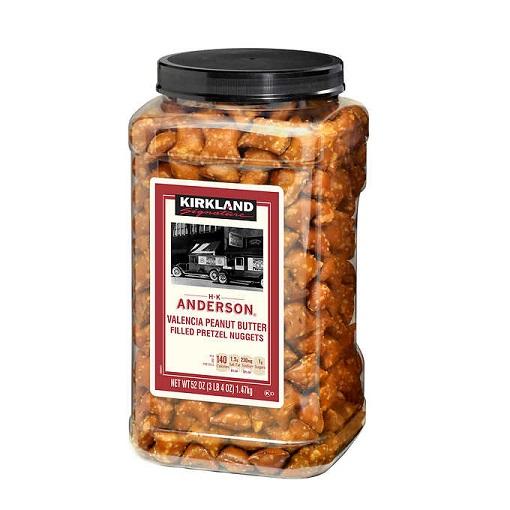 Kirkland Peanut Butter Filled Pretzel 55oz thumbnail