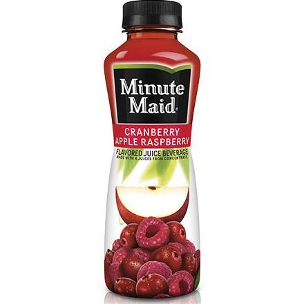 Minute Maid Cranberry Raspberry Apple 15.2 oz thumbnail