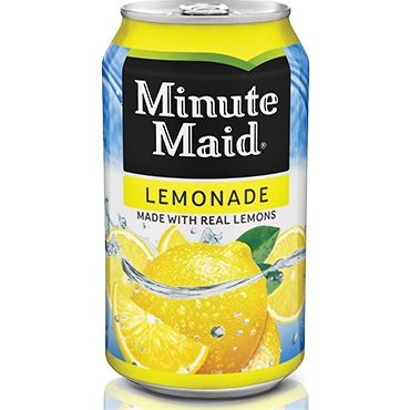 Can MinuteMaid Lemonade thumbnail