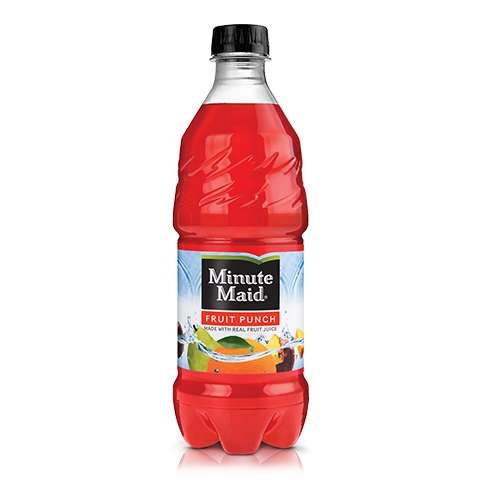 Minute Maid Fruit Punch 20oz thumbnail
