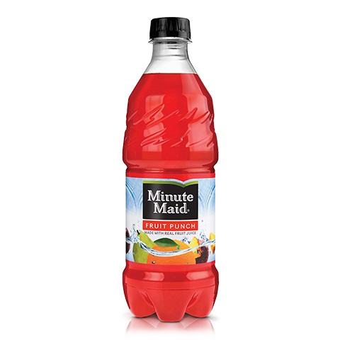 Minute Maid Fruit Punch 20oz thumbnail