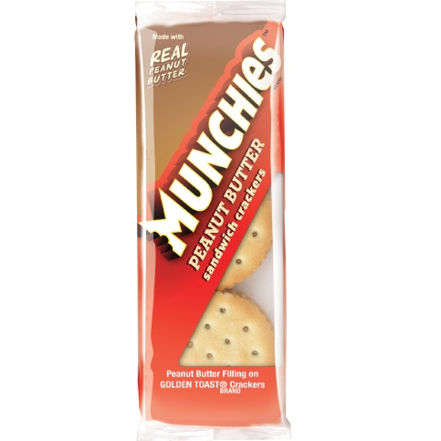 Munchies Toasty Peanut Butter Crackers 1.42oz thumbnail
