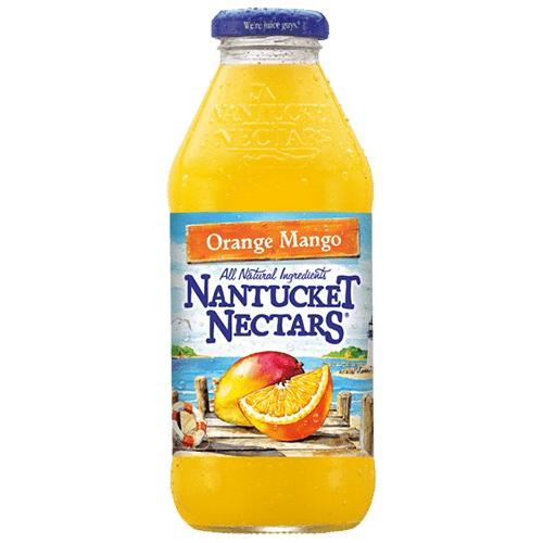 Nantucket Nectars Orange Mango 16oz thumbnail