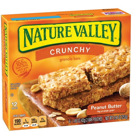 Nature Valley Peanut Butter Granola Bar thumbnail