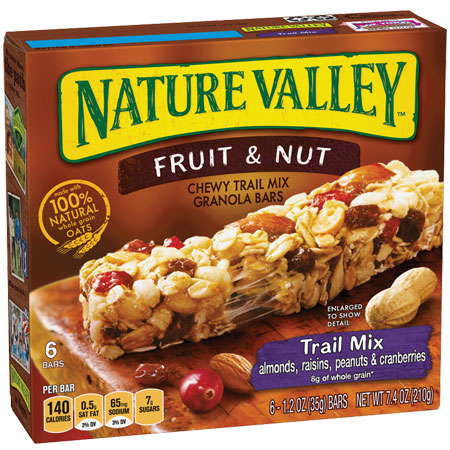 Nature Valley Trail Mix Fruit & Nut thumbnail