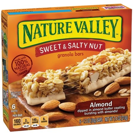 Nature Valley Chewy Sweet & Salty Almond thumbnail