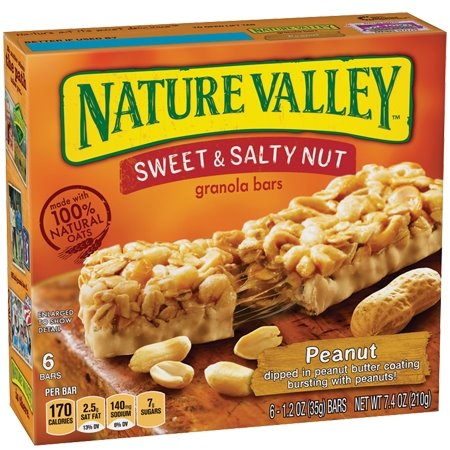 Nature Valley Chewy Sweet & Salty Peanut thumbnail