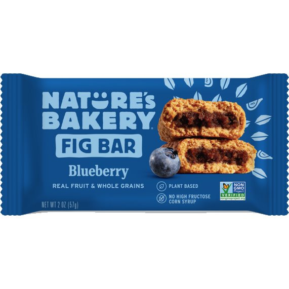 Natures Bakery Fig Bar Whole Wheat Blueberry thumbnail