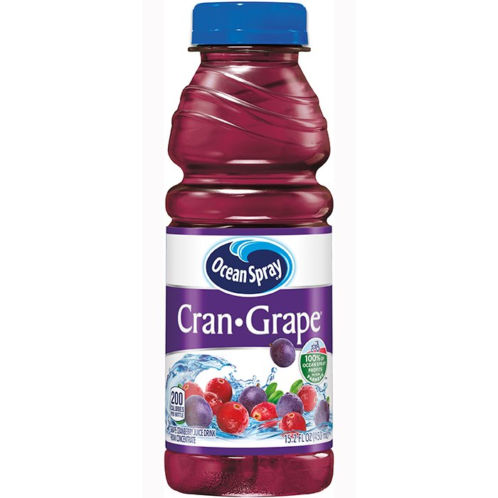 Ocean Spray Cran-Grape Bot-70193(12) thumbnail