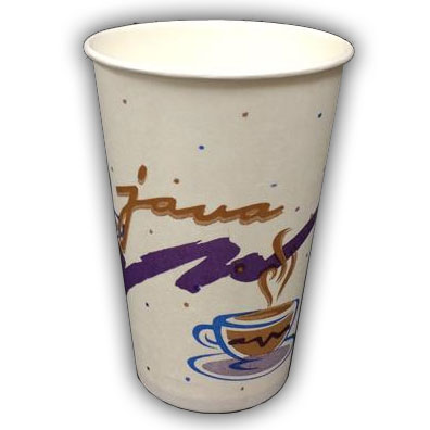 12 oz Java Hot Vend Cups thumbnail