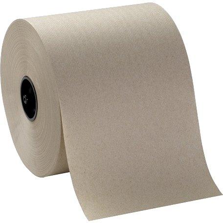 "Roll Towel Brown 8""x350ft 12ct thumbnail"