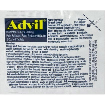 Advil 2 Tablets thumbnail