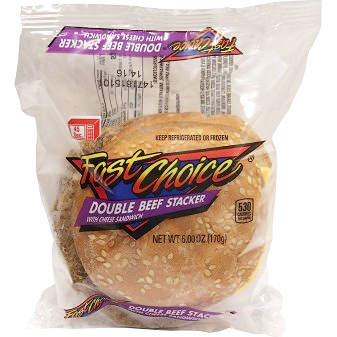 Fast Choice Beef Double Stacker Cheese thumbnail