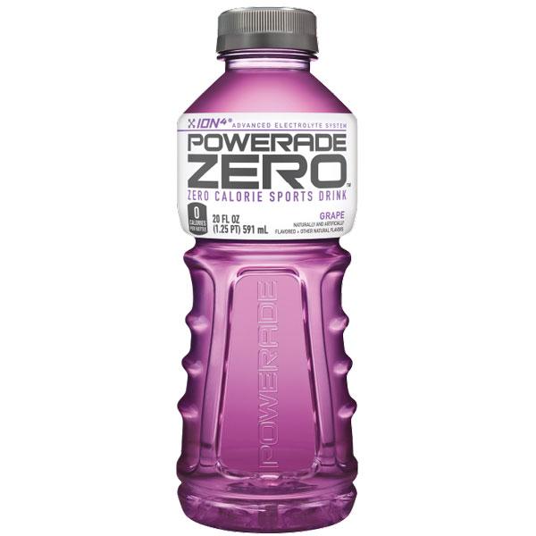 Powerade Zero Grape 20oz thumbnail