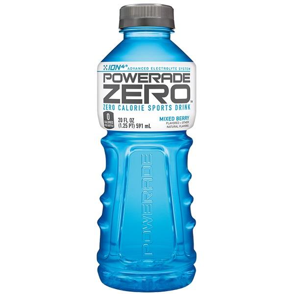 Powerade Zero Mixed Berry 20oz thumbnail