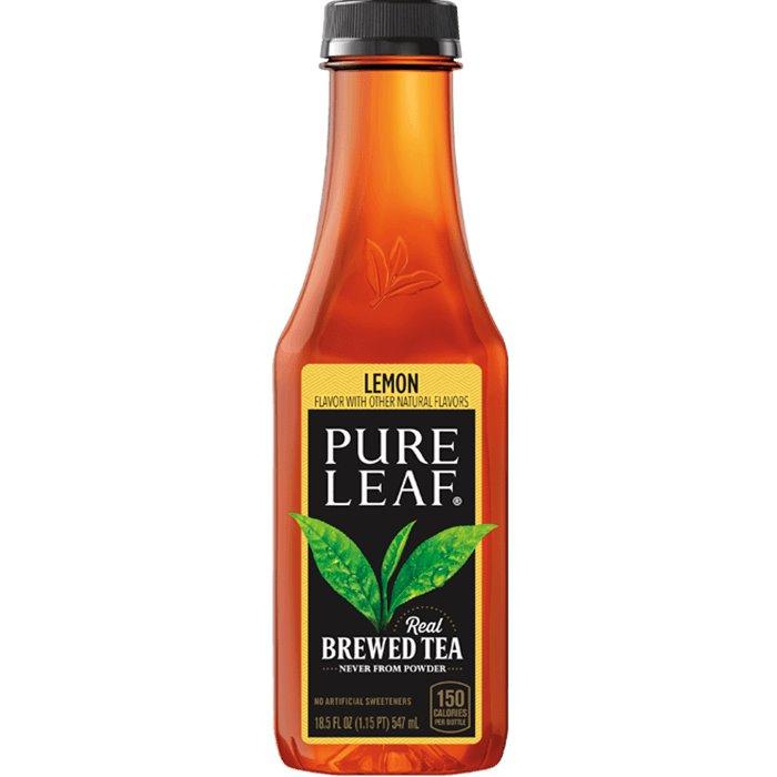 Pure Leaf Lemon Tea 18.5oz thumbnail