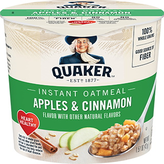 Quaker Oatmeal Express Apple & Cinnamon thumbnail