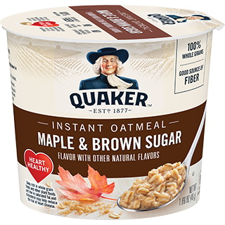 Quaker Oatmeal Express Maple & Brown Sugar thumbnail