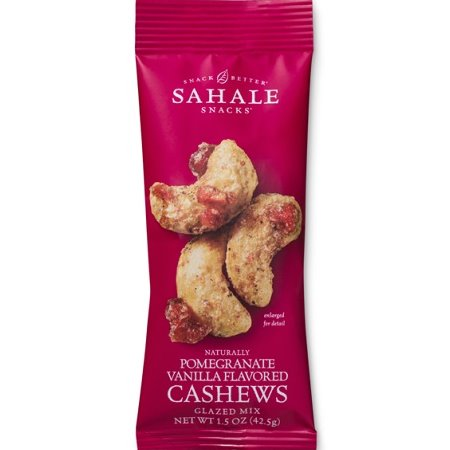Sahale Cashews w/Pomegranate Vanilla 1.5oz thumbnail