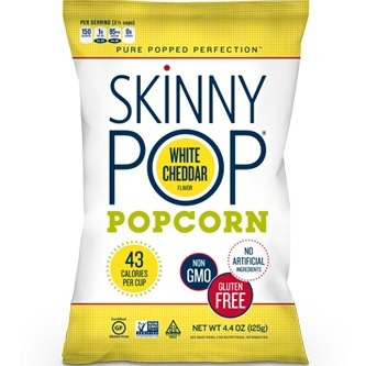 Skinny Pop White Cheddar 1oz thumbnail