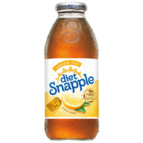 Snapple Diet Lemon 16 oz thumbnail