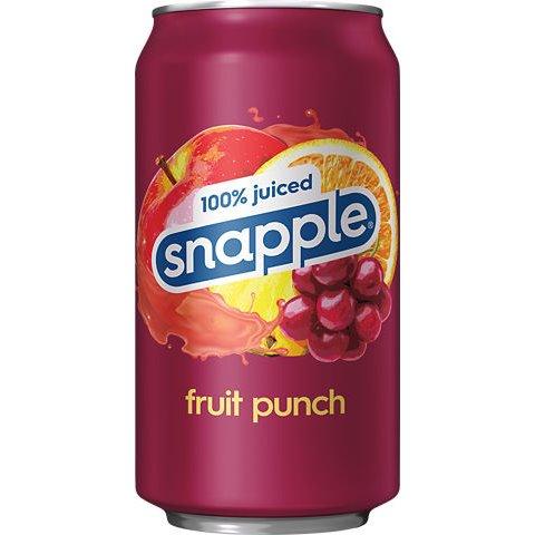 Snapple Juiced Fruit Punch 12oz thumbnail