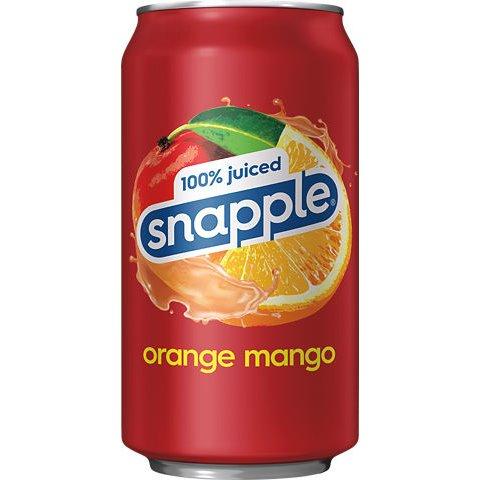 Snapple Juiced Orange Mango 12oz thumbnail