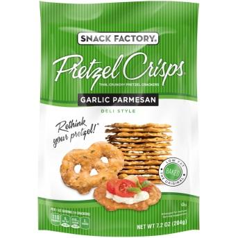 Snack Factory Pretzel Crisp Garlic Parm thumbnail