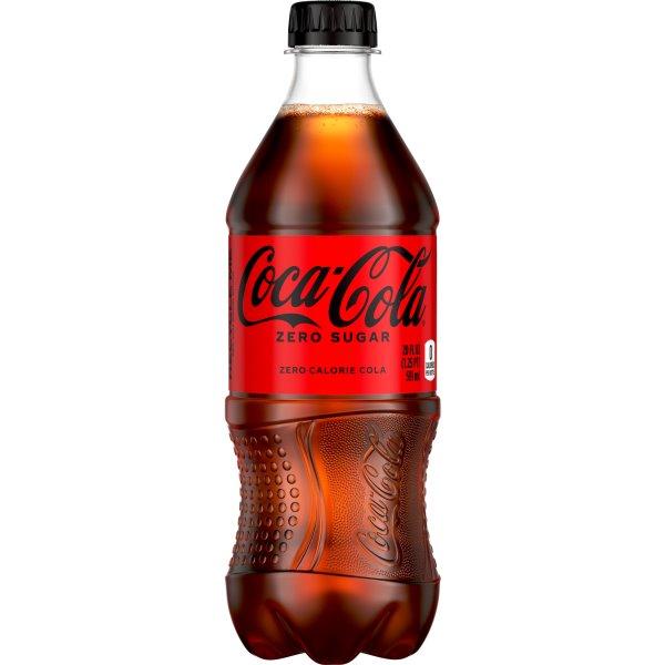 Coke Zero 20oz thumbnail
