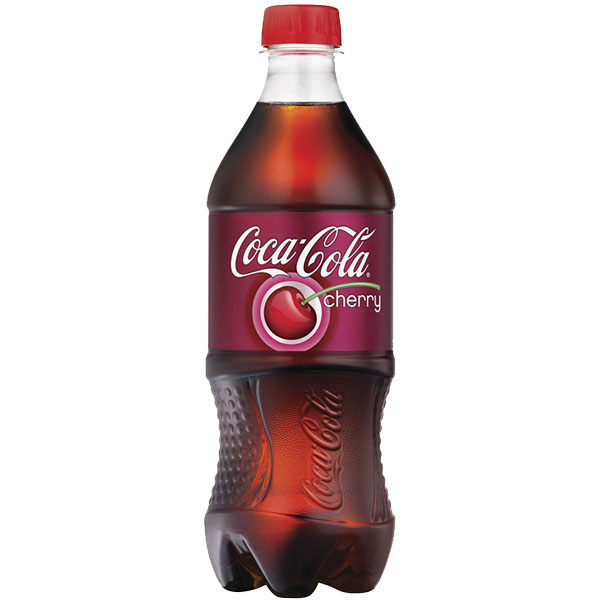 Coke Cherry 20oz thumbnail