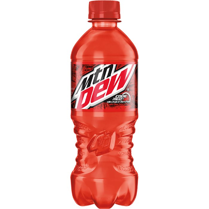 Mountain Dew Code Red 20oz thumbnail