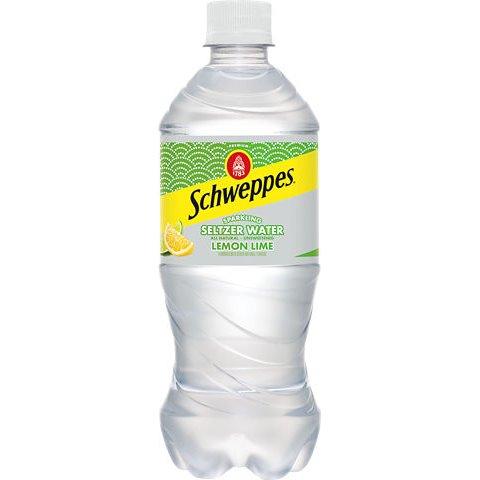 Schweppes Lemon Lime Seltzer 20oz thumbnail