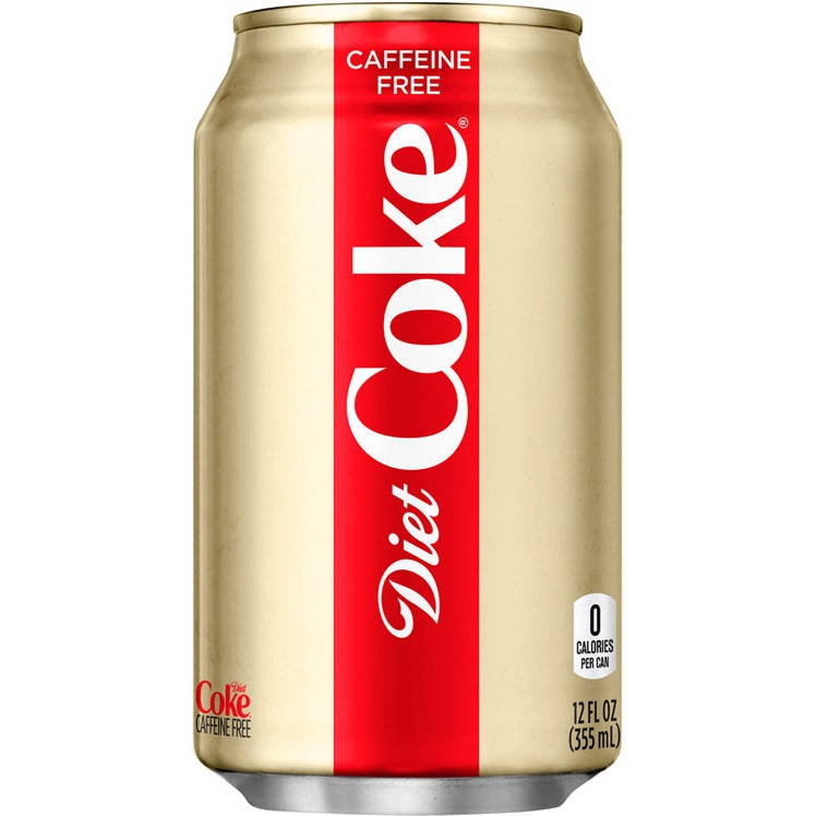 Diet Caff Free Coke cans thumbnail