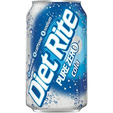 Diet Rite Cola 12oz thumbnail