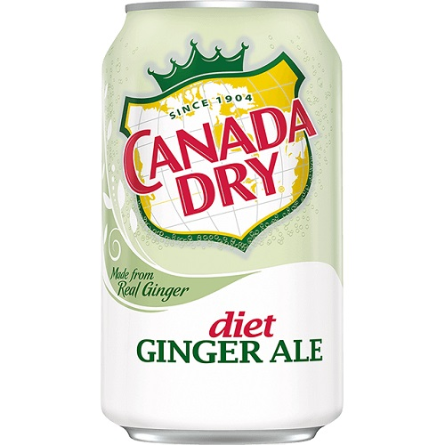Diet Canada Dry Ginger Ale 12oz thumbnail