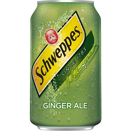Schweppes Ginger Ale 12oz thumbnail