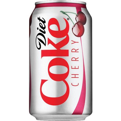 Diet Coke Cherry 12oz thumbnail