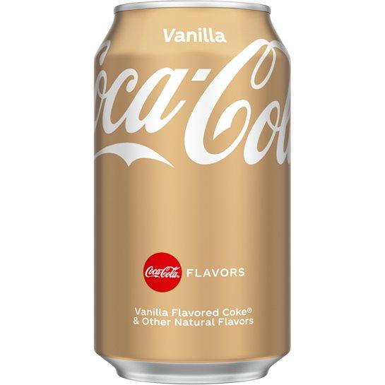 Coke Vanilla 12oz thumbnail