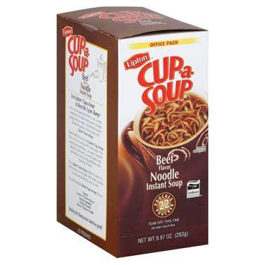 Lipton Beef Noodle Soup 4/22c thumbnail