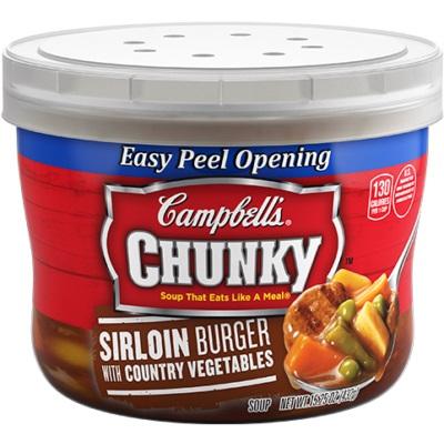 Campbell's Sirloin Burger Soup thumbnail