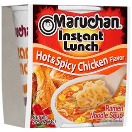Maruchan Hot & Spicy Chicken Flavor 2.25oz thumbnail