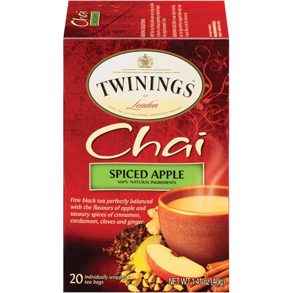 Twining's Spiced Apple Chai Tea 20ct thumbnail