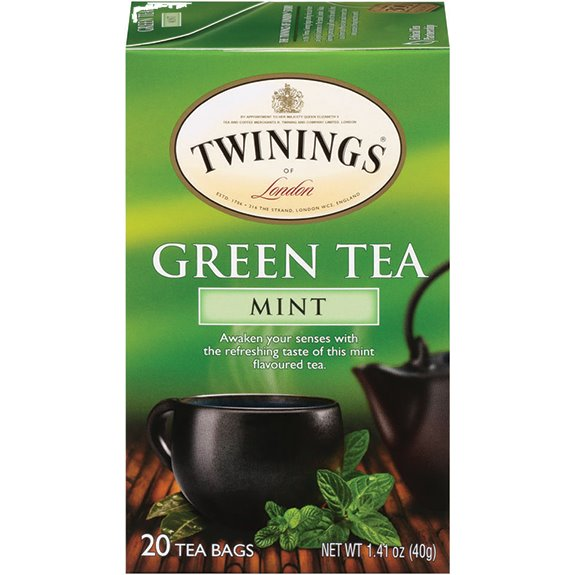 Twining's Green Tea w/ Mint 20ct thumbnail