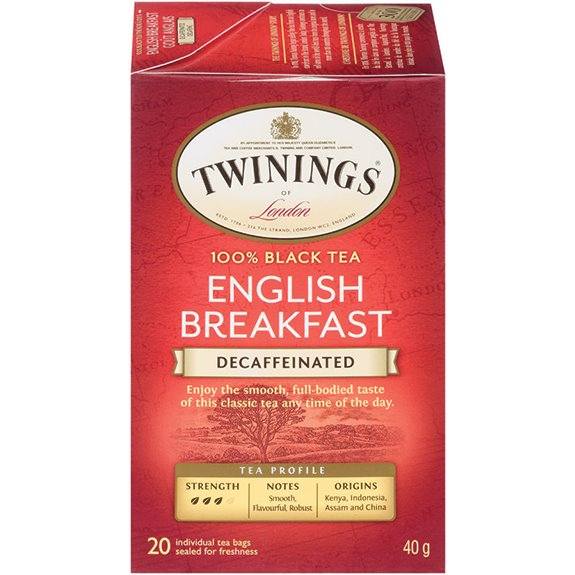 Twining's English Breakfast Decaf 25ct thumbnail