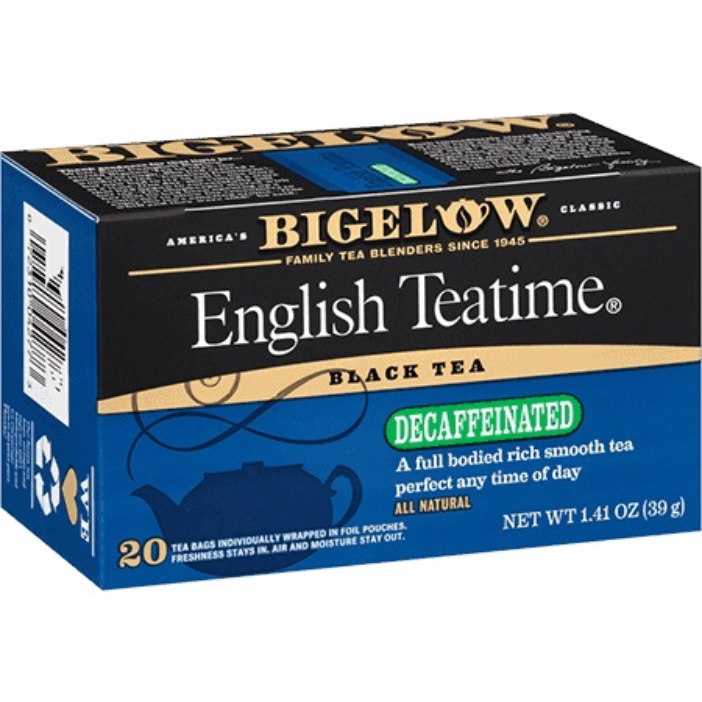 Bigelow English Teatime Decaf thumbnail