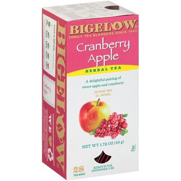 Bigelow Cranberry Apple 28 ct thumbnail