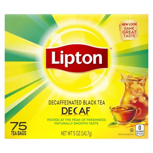 Lipton Decaf Tea Bags thumbnail