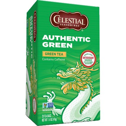 Celestial Authentic Green Tea 25 ct thumbnail