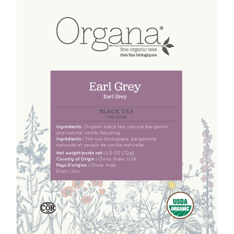 Organa Earl Grey Tea Pods 18ct thumbnail